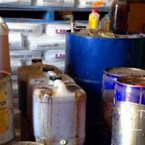 Empresa de recuperação de resíduo químico