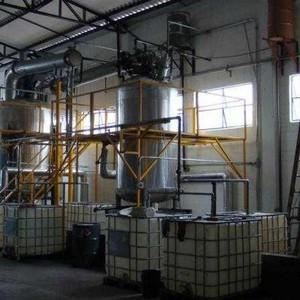 Indústria de recuperação de resíduos químicos