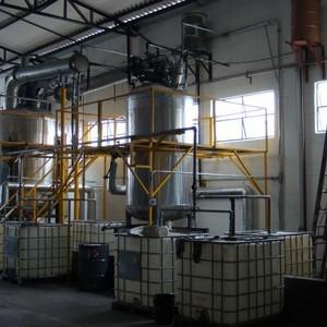 Tratamento de resíduo químico em sp