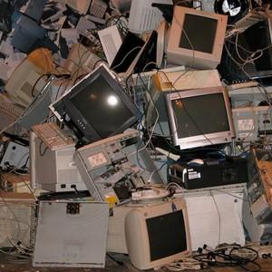 Lixo eletrônico computador