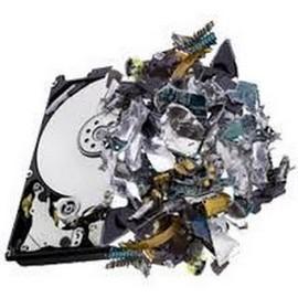 destruição de equipamentos