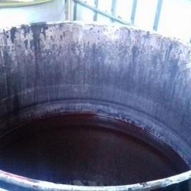 Reciclagem thinner usado
