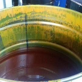 Resíduos de tintas e solventes