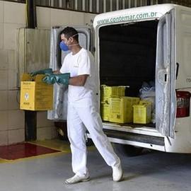 Serviço de coleta de resíduo em SP